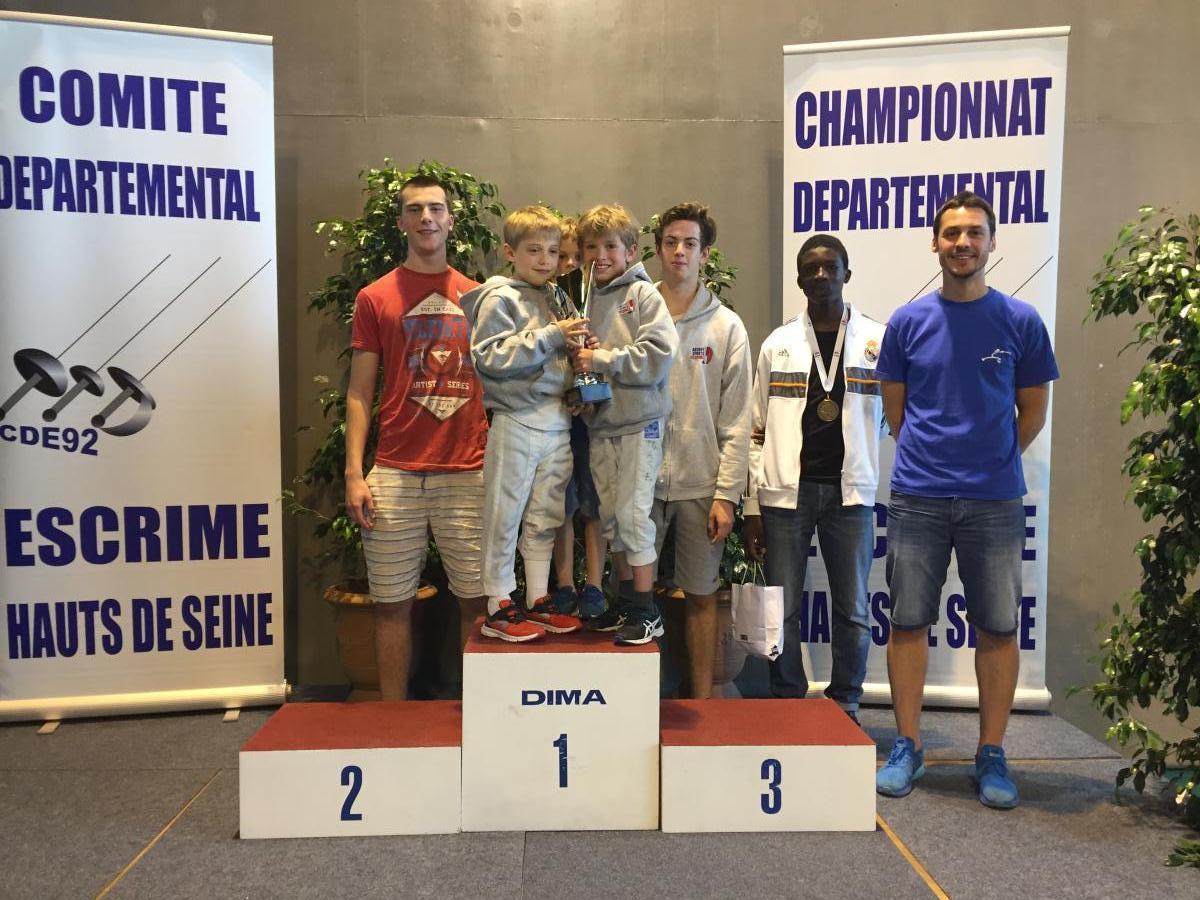 Trophée Meilleur club Fleuret Antony
