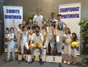 Trophée Meilleur Club Sabre Clamart