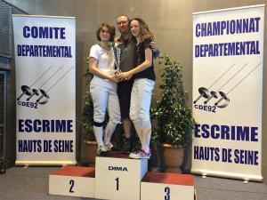 Trophée Meilleur club Epée-Boulogne
