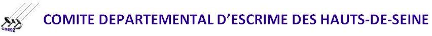 Comité Départemental d'Escrime des Hauts de Seine
