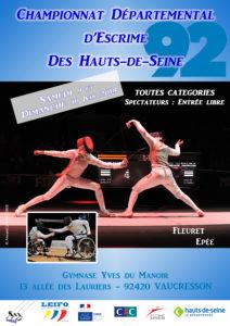 Championnats 92 individuels @ Vaucresson