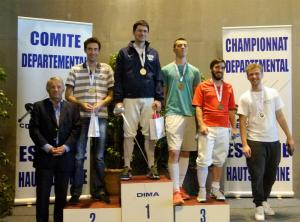 Podium Epée H Senior