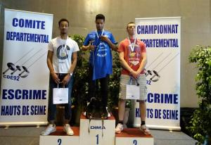 Podium Fleuret H senior