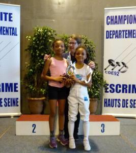 Trophée Féminines Fleuret Suresnes