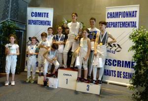 Trophée Féminines Sabre Clamart