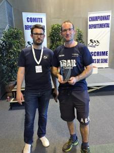 Trophée Meilleur Arbitre Epée-Chakroun