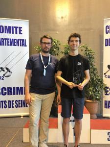 Trophée Meilleur arbitre Fleuret Henry